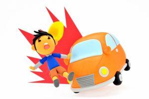 小学生の交通事故のイメージ画像